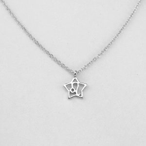 Silver Star Leo Necklace - 23/7 to 22/8