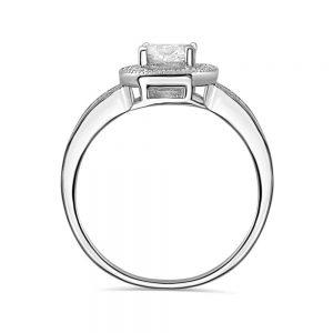 1.4 Carat Brilliant Cut Cubic Zirconia 925 Sterling Silver Ring